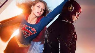 Отрывок Флэша и Супергерл озвучка Русские Блоги DC Comics