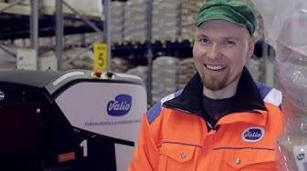 Rocla's automation solution maximizes storage capacity and saves money at Valio Lapinlahti factory