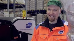 Rocla's automation solution maximizes storage capacity and saves money at Valio Lapinlahti factory