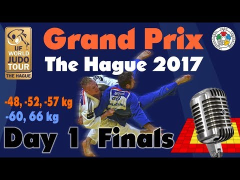Judo Grand-Prix The Hague 2017: Day 1 - Final Block