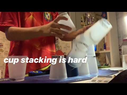 Cup Stacking Is Hard