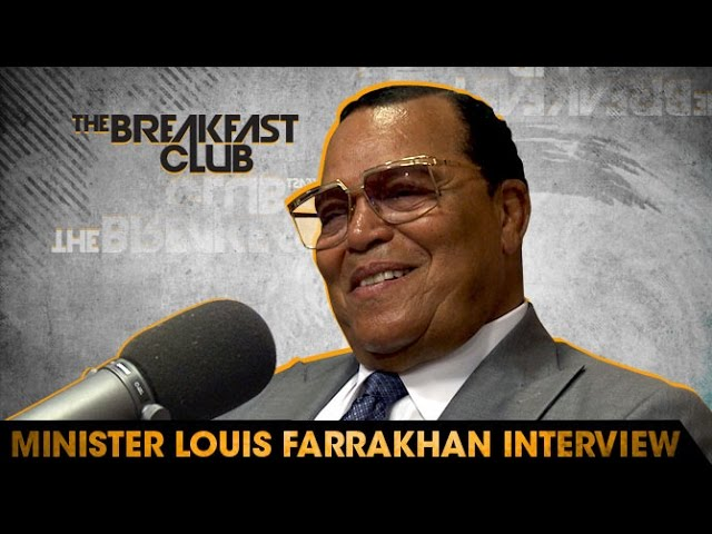 Louis Farrakhan Interview at The Breakfast Club Power 105.1 (FULL)