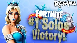 NOUVEAU Glimmer Skin! - Régime - Fortnite - Solo Win - Battle Royale