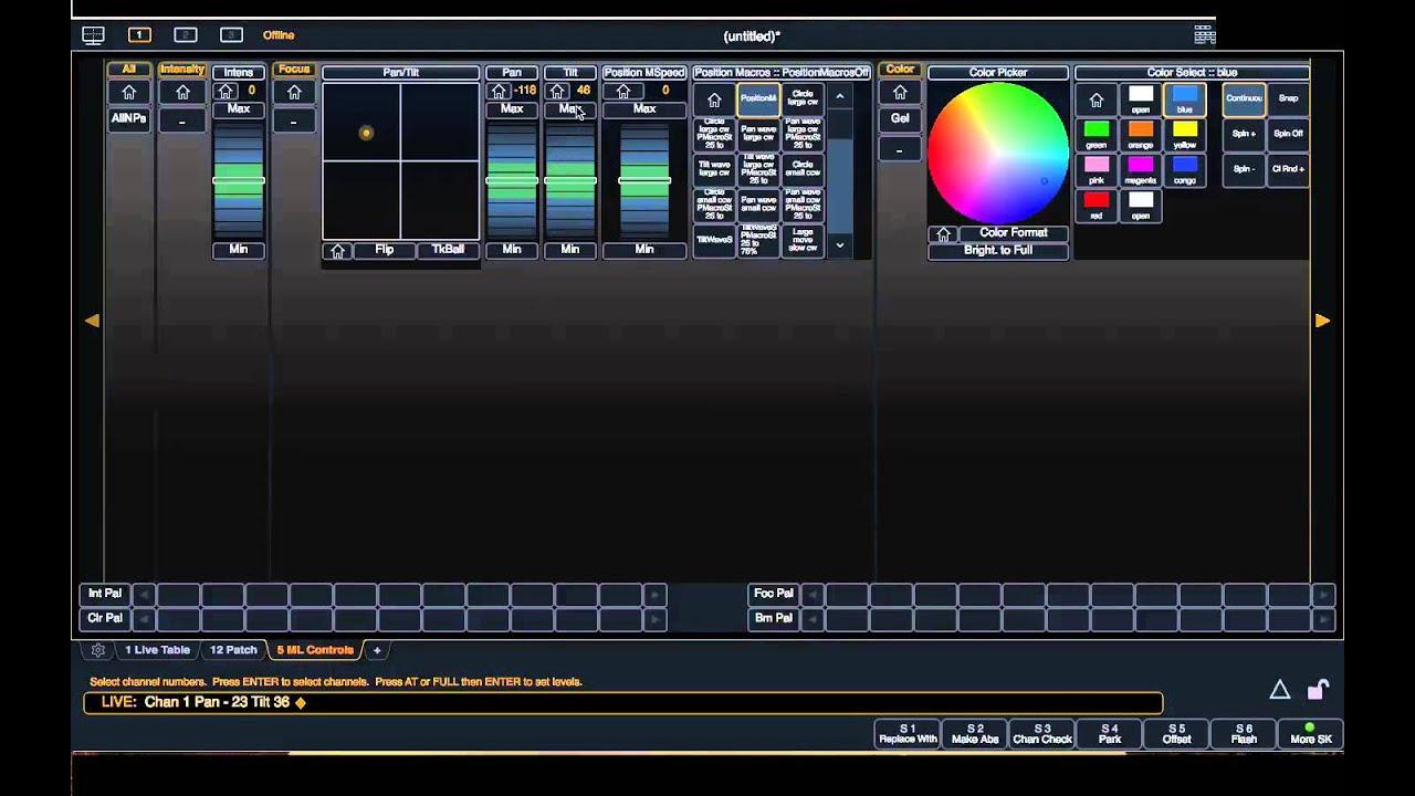 ETC Ion Moving Lights