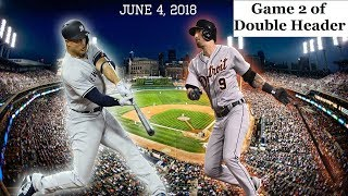 New York Yankees vs Detroit Tigers Highlights || June 4, 2018 - Game 2 of Double Header