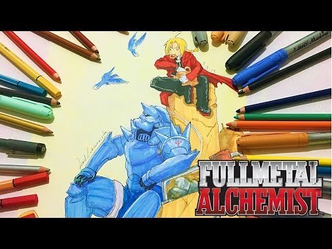 Fullmetal Alchemist Ed And Al Elric