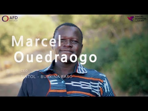 Social Business Camp - Pitch Participant - Marcel Ouedraogo, Siatol, Burkina Faso