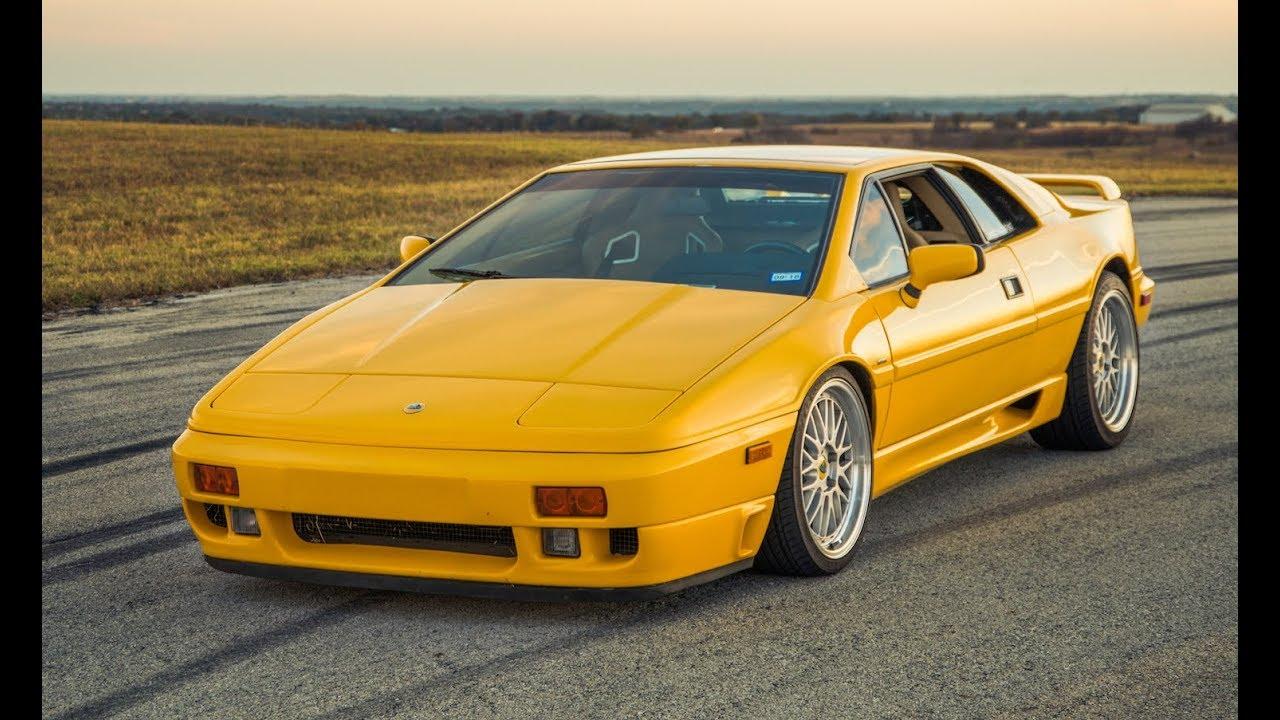 450 HP ATS Racing 1990 Lotus Esprit SE - One Take - YouTube
