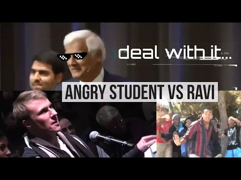 Angry Skeptic tries to challenge Ravi Zacharias, INSTANTLY REGRETS IT!