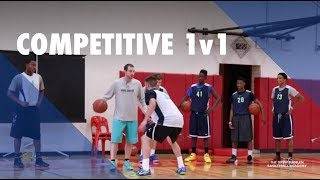 Competitive 1 on 1 Basketball Drill