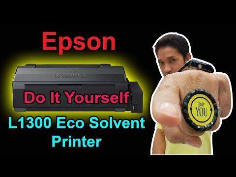 my modified Epson  L1300 eco solvent printer