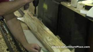The Making Of Jhe's Cedar Lake Flat Top Spindle Log Bed