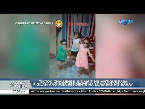 TikTok Challenge, Ginamit Ng Antique Para Pigilan Ang Mga Residente Na Lumabas Ng Bahay