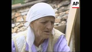 KOSOVO: MERITA SHABIUS FAMILY