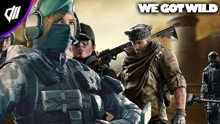 OBEY GETS WILD ON R6 ( Rainbow 6 Siege Funny Moments & Fails)