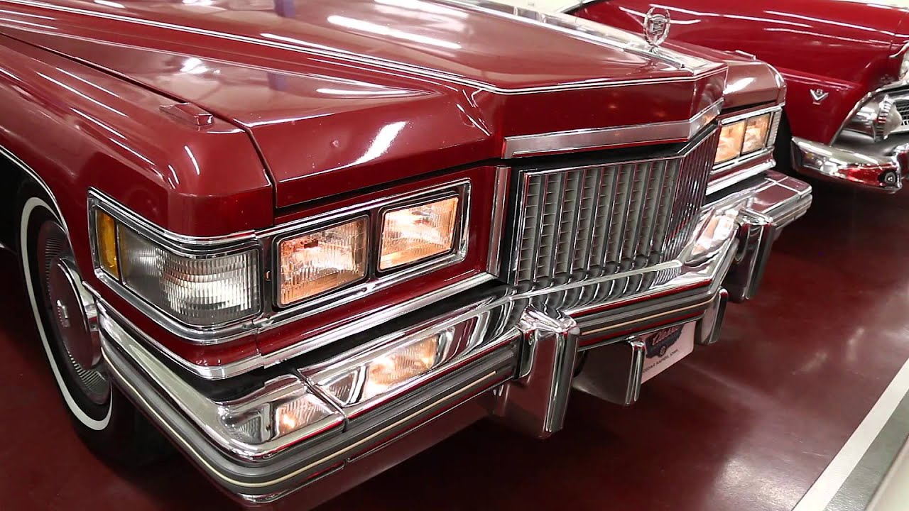 1975 Cadillac Coupe DeVille - YouTube