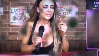 Sneezing Girl Sprays Snot Live On Babestation TV! Danni Levy
