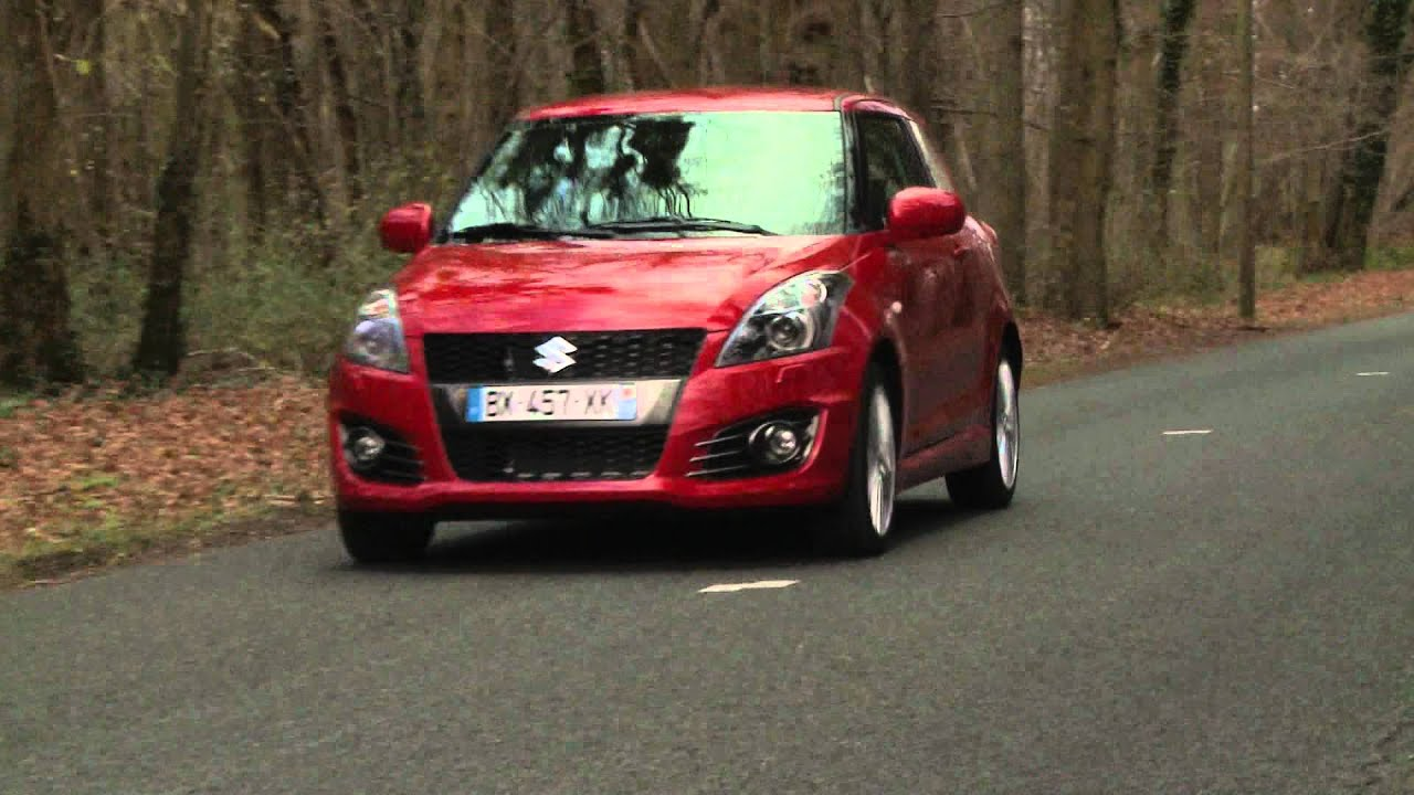 essai suzuki swift sport 2011 youtube. Black Bedroom Furniture Sets. Home Design Ideas