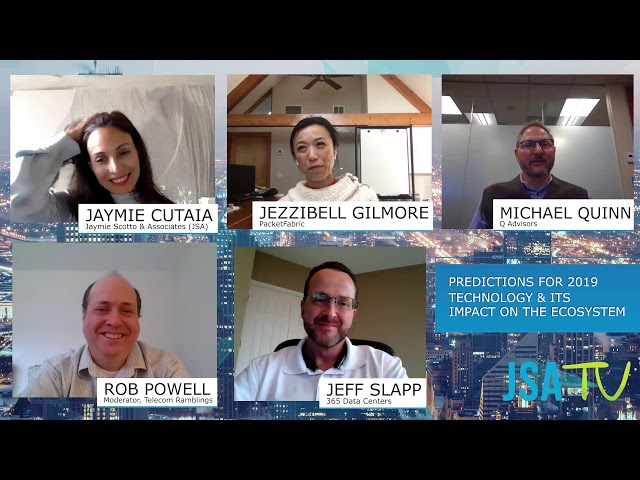 JSA Virtual CEO Roundtable 2019: Predictions for 2019 Technology & Its Impact on the Ecosystem