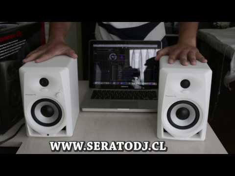 PIONEER MONITORES ESTUDIO DM-40 (PAR) WWW.SERATODJ.CL
