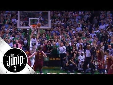 NBA will not discipline JR Smith for pushing Al Horford in Game 2 | The Jump | ESPN