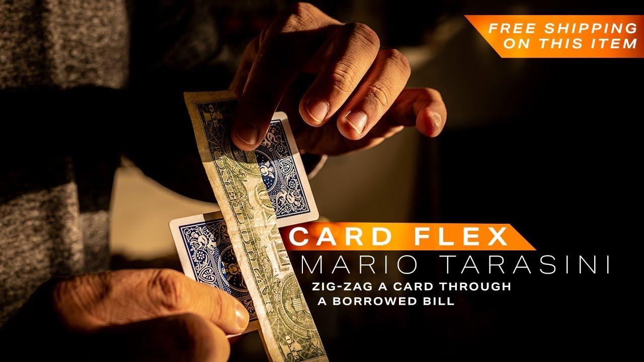 Card Flex by Mario Tarasini | Learn Magic @Ellusionist - YouTube