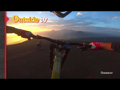 Biking Down an Active Volcano | Volcanico