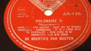 Polonaise - De Boertjes van Buuten - 78 rpm