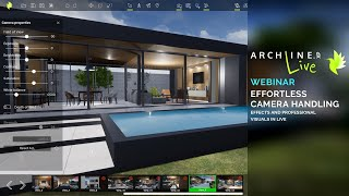 ARCHLine.XP LIVE - Effortless Camera Handling, Effects and Professional Visuals in LIVE