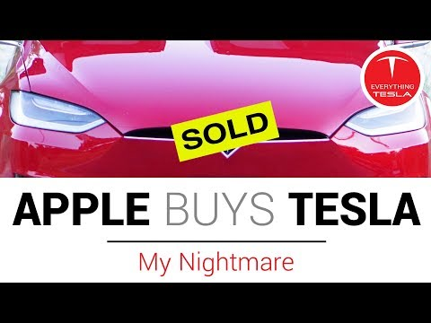 Apple Buys Tesla - Breaking News   My Nightmare