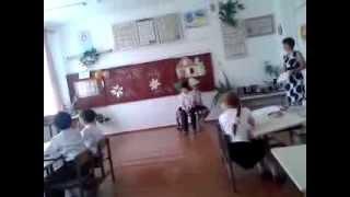 Копия видео открытый урок английского в Акимовской школе