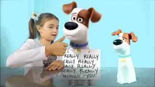 Тайная жизнь домашних животных Супер игрушки из мультика для детей Смешные животные