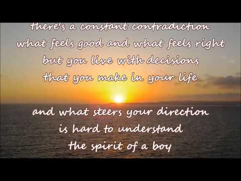Randy Travis - Spirit Of A Boy, Wisdom Of A Man (with lyrics)