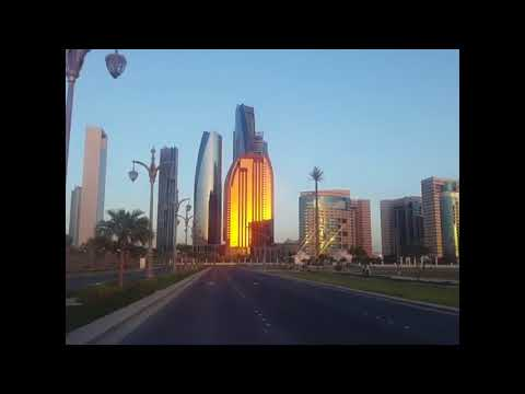 Abu Dhabi City video | Emirates Palace | Corniche Road