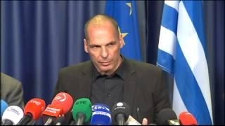 Varoufakis Eurogroup press conference (27-06-2015)