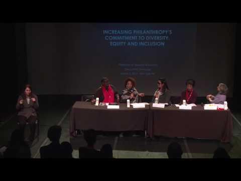 Dance/NYC 2017 Symposium: Increasing Philanthropy's Commitment to Diversity, Equity & Inclusion