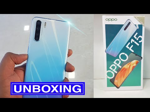 OPPO F15 Unboxing & Hands on Review - Slimest and Lightweight oppo Smartphone!!!