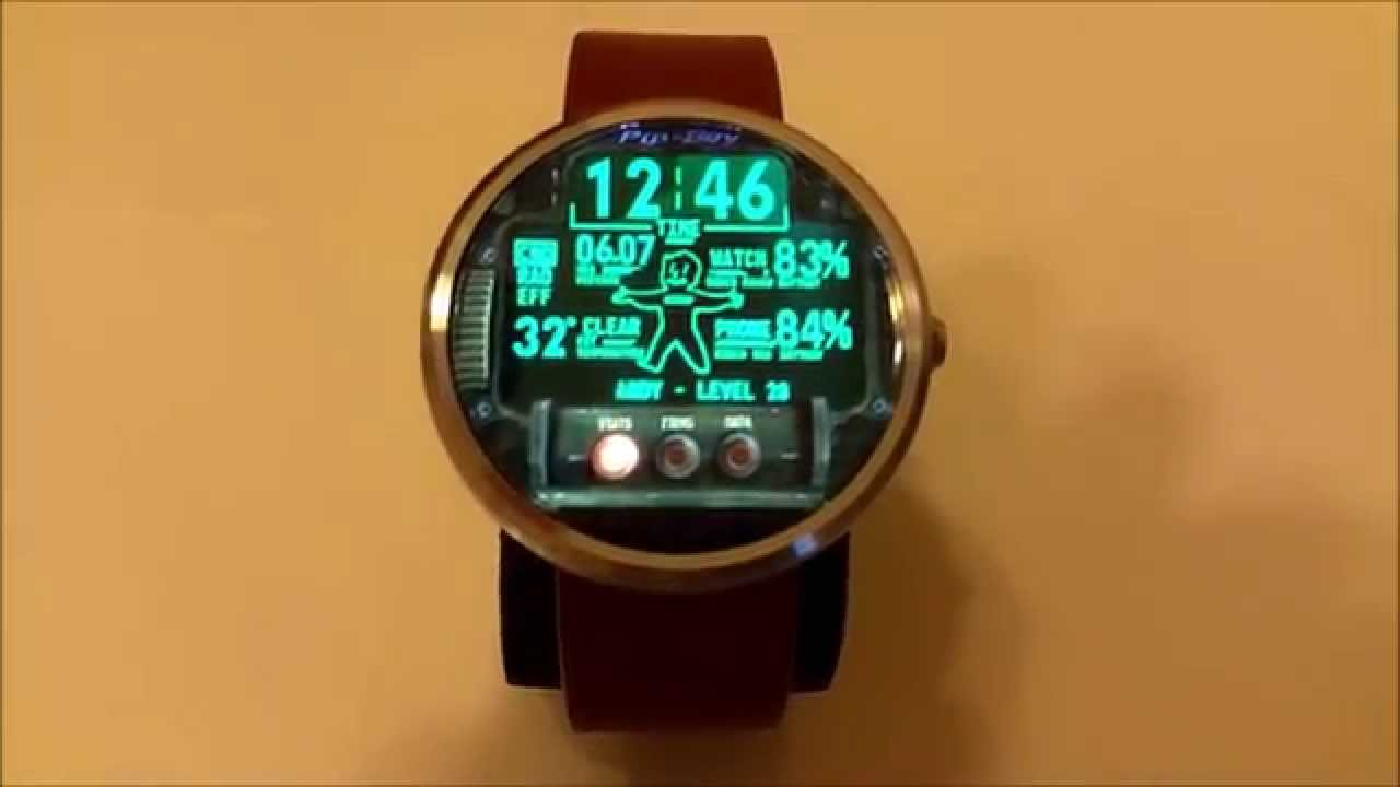 Moto 360 Beautiful watch faces #1