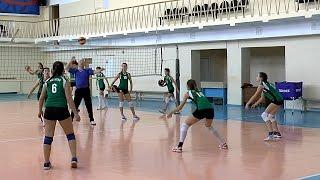 Волейбол обучение. Девушки. Упражнение на отработку приема. Тренировка. Часть 6