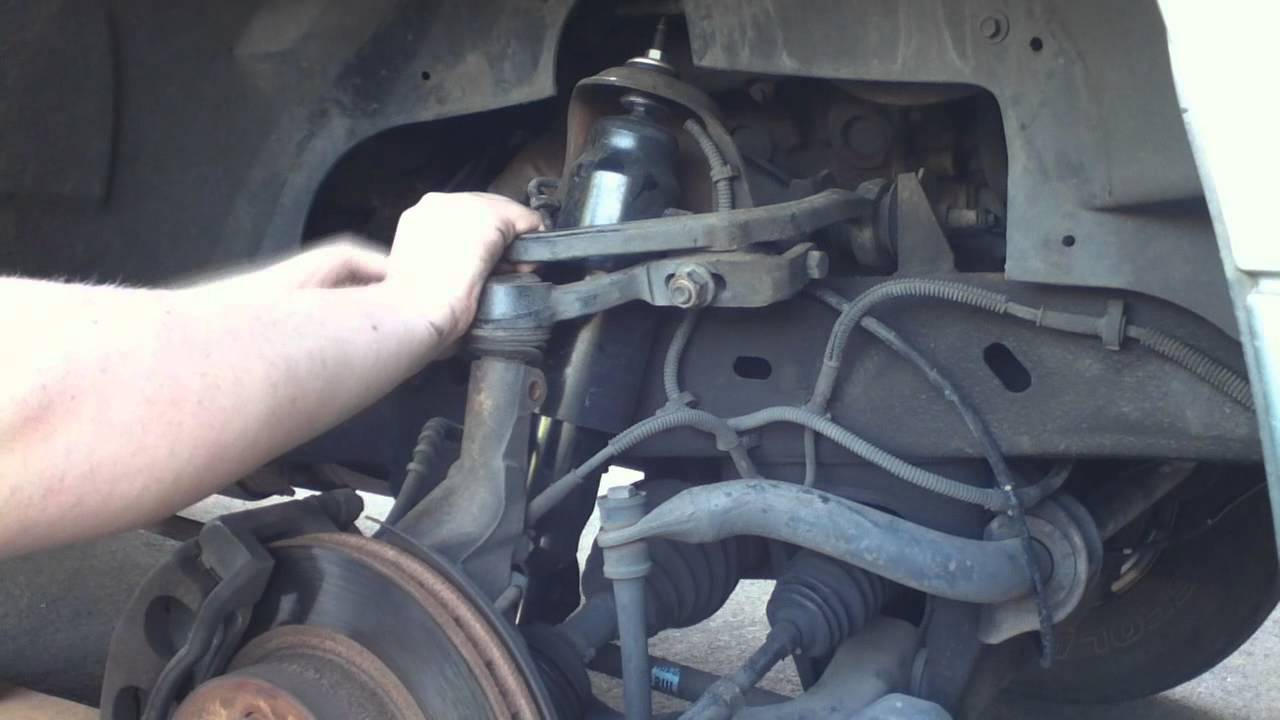 1998 Ford F150 Front Suspension Diagram Lighting Spur Wiring Explorer Pass Side Ball Joint Replacement Part 1 - Youtube