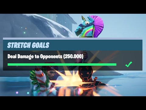 Deal Damage To Opponents (250.000) - Fortnite Prestige Stretch Goals Challenges
