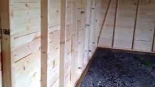 Timber Garage By Direct Sectional Buildings