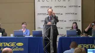 Heritage Sells Silver Center Cent for $1 Million at CSNS Convention