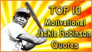 Top 10 Jackie Robinson Quotes | Sport Quotes | Inspirational Quotes