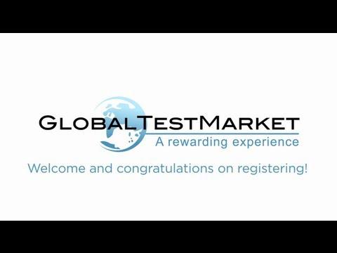 global test market login