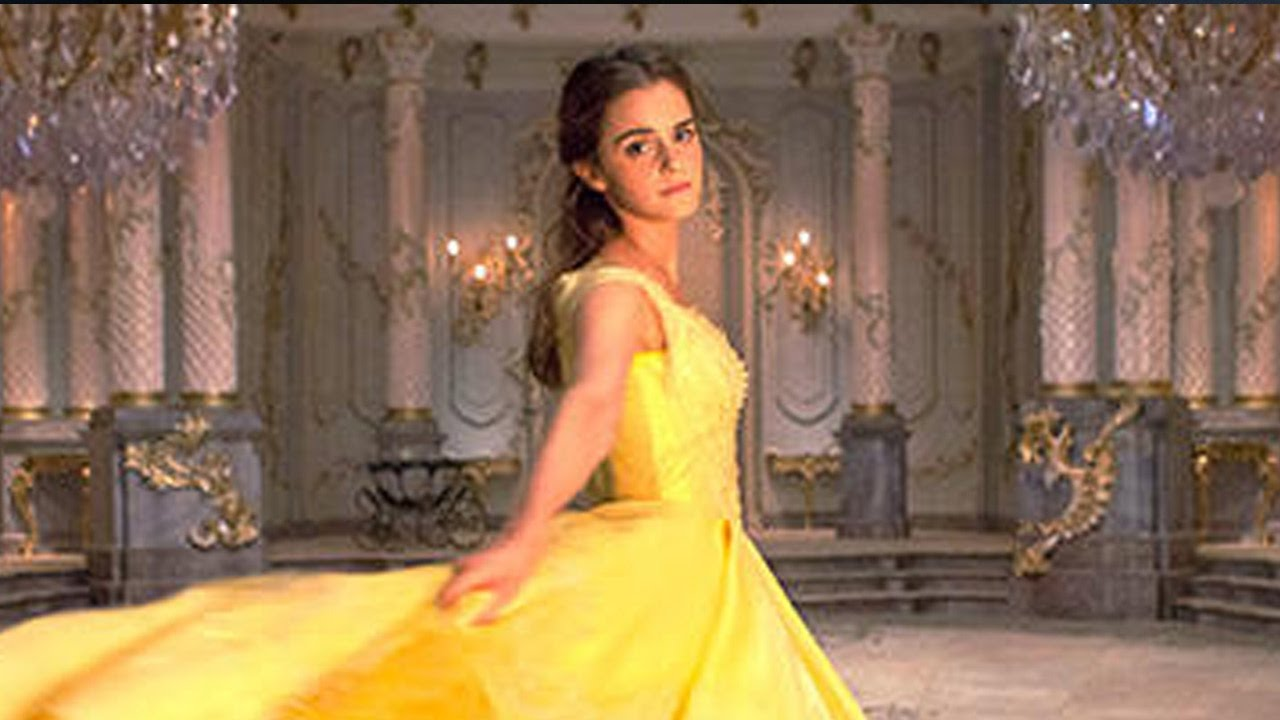 First Look At Emma Watson As Belle In Iconic Yellow Gown Beauty The Beast Live Action Movie