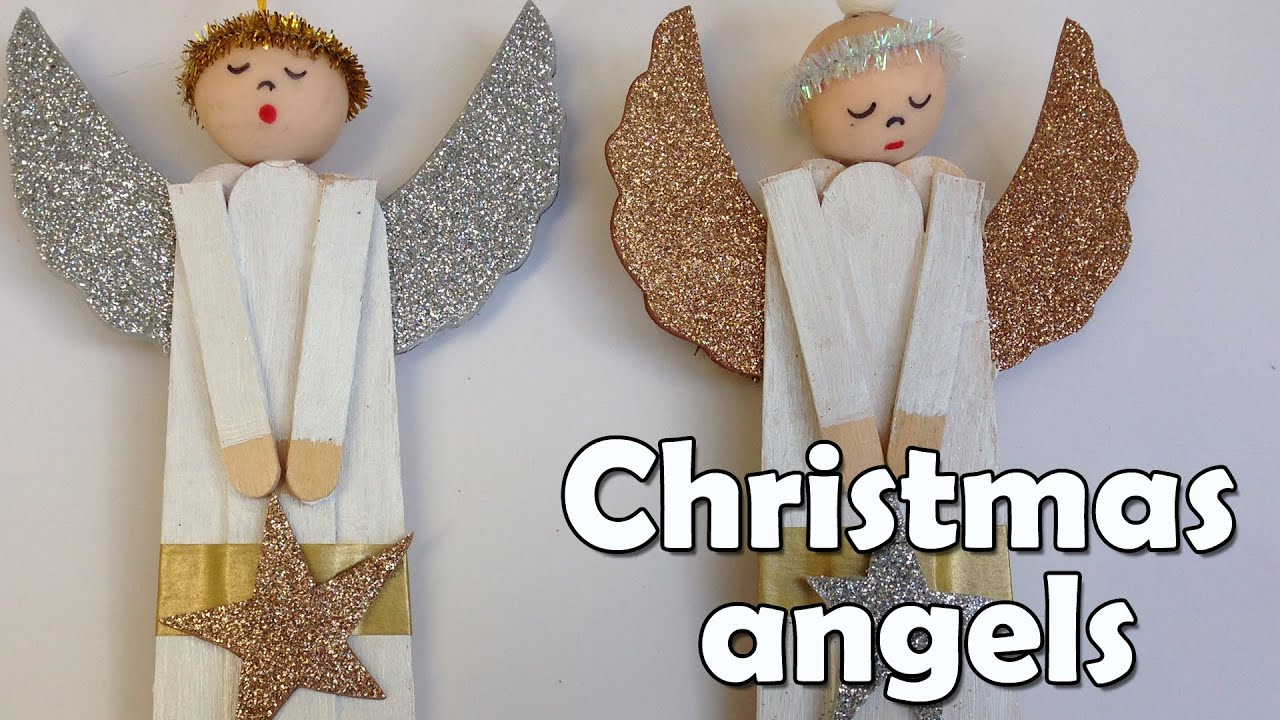 DIY Christmas Crafts Angel Ana