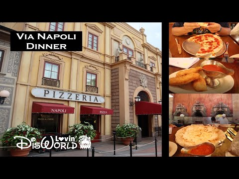 Via Napoli Dinner 2020 | Disney Dining Review | Italy Pavilion | Epcot