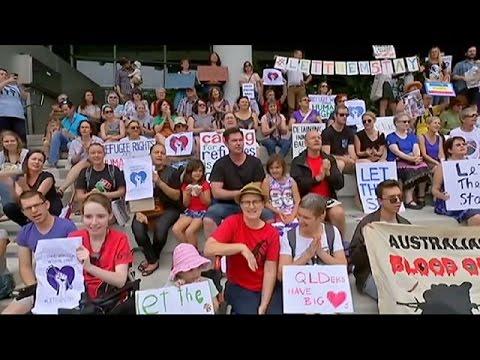 Avustralya'da Bir Hastane Mülteci Bebeği ülkede Kalması Için Taburcu Etmiyor