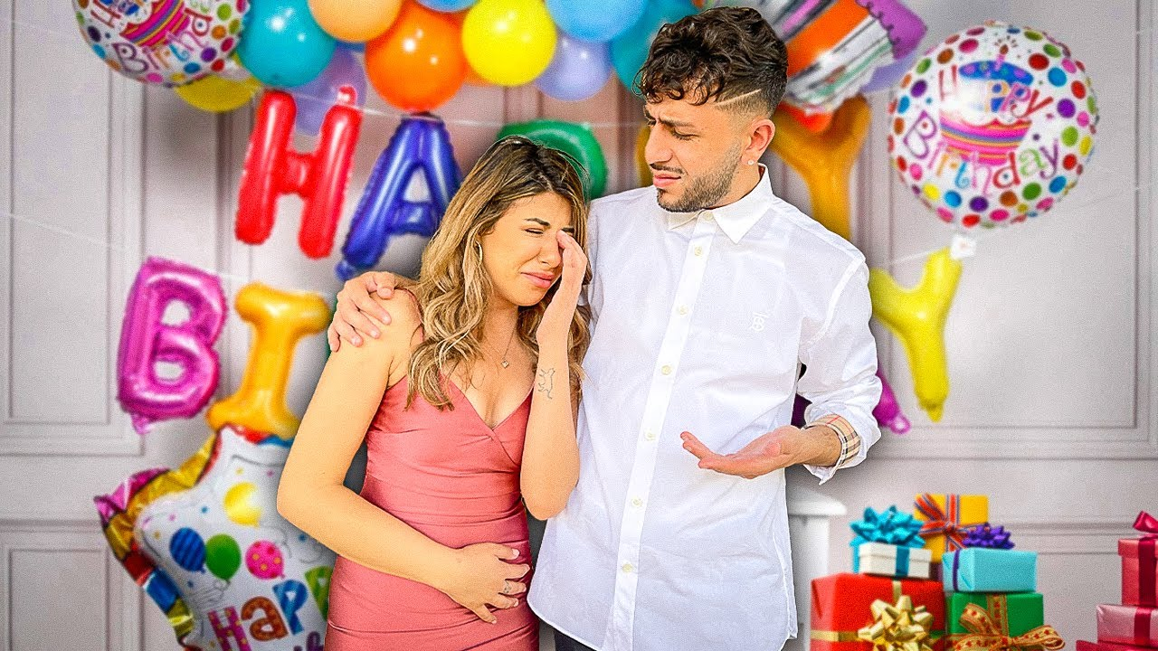 I made her cry on her birthday & what happened next will shock you...